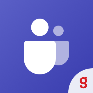 Icon: MS Teams Meeting for Chat by SolbegSoft